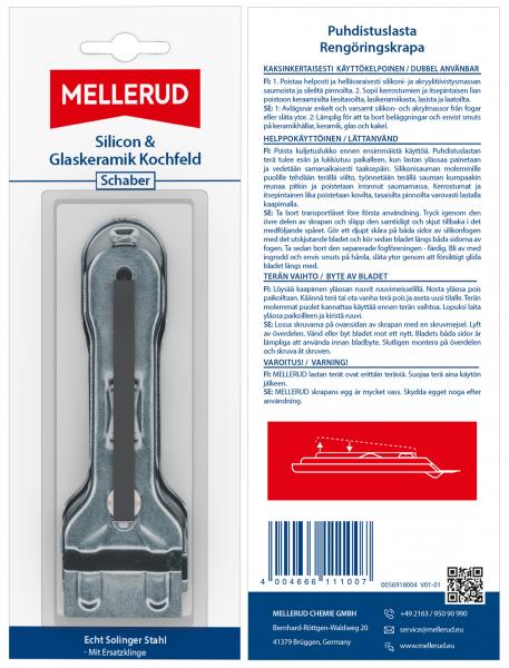 FISE-Silicon & Glask. Kochfeld Schaber