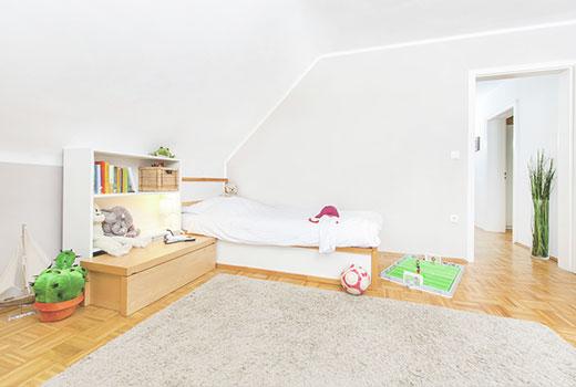 Bild eines hygenischen Kinderzimmers